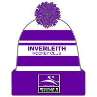 Inverleith Hockey Club Beanie - Purple/White