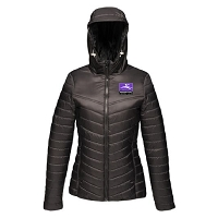 Inverleith Hockey Club Ladies Padded Jacket - Black
