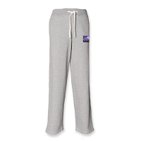 Inverleith Hockey Club Men's Open Hem Track Pant - Heather Grey
