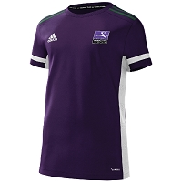 Inverleith Hockey Club Ladies Home Shirt - Collegiate Purple/White/Dk Green