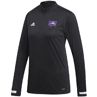 Inverleith Hockey Club Ladies Quarter Zip Top - Black/White