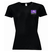 Inverleith Hockey Club Ladies Training T-Shirt - Black