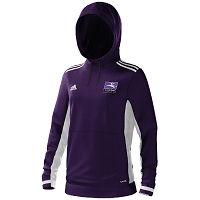 Inverleith Hockey Club Ladies Hoody - Collegiate Purple/White