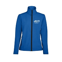 JCI Scotland Soft Shell Jacket Ladies - Royal