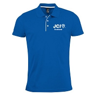 JCI Scotland Men's Polo - Royal