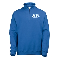JCI Scotland 1/4 Zip Sweat - Royal