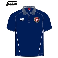 Kilmarnock RFC Team Dry Polo - Navy/White