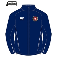 Kilmarnock RFC Team Full Zip Rain Jacket - Navy/White