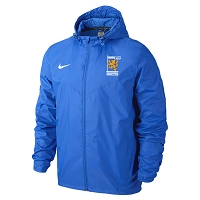 Knightswood FC - Nike Sideline Rain Jacket - Royal Blue