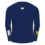 Lanark RFC Baselayer Cold Long Sleeve Navy