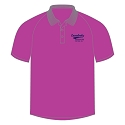 Laurelvale CC Ladies Script Polo Shirt