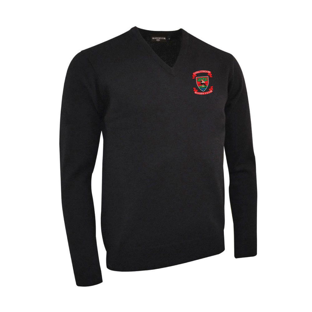 Linlithgow RFC V-Neck Lambswool Sweater