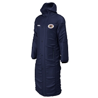 Loch Lomond RFC Contoured Bench Coat Navy Junior