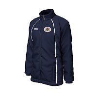Loch Lomond RFC Elite Showerproof Jacket Navy/White Junior