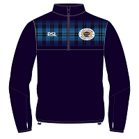 Loch Lomond RFC Pro Evolution Quarter Zip Midlayer Navy Senior