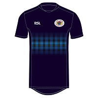 Loch Lomond RFC Pro Evolution Training T-Shirt Navy Junior