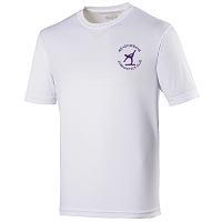 Meadowbank Gymnastic Club Kids Cool T Arctic White