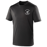 Meadowbank Gymnastic Club Cool T Jet Black