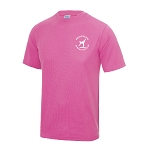 Meadowbank Gymnastic Club Kids Cool T Electric Pink