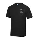 Meadowbank Gymnastic Club Kids Cool T Jet Black