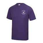 Meadowbank Gymnastic Club Kids Cool T Purple