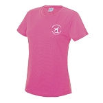 Meadowbank Gymnastic Club Women's Cool T Electric Pink