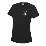 Meadowbank Gymnastic Club Women's Cool T Jet Black