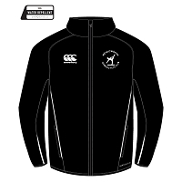 Meadowbank Gymnastic Club Team Track Jacket Black/White Junior