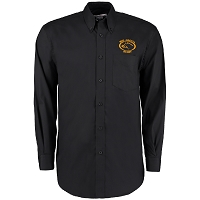 Mid Argyll RFC Oxford Long Sleeve Shirt - Black