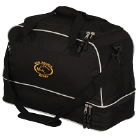 Mid Argyll RFC Players Holdall - Black/Silver