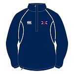 Murrayfield Wanderers Mini/Midi FC Classic Microfleece Junior Navy