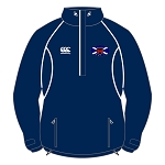 Murrayfield Wanderers Mini/Midi FC 1/4 Zip Rain Jacket Adults Navy