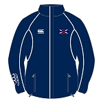 Murrayfield Wanderers Mini/Midi FC Stadium Jacket Adults Navy