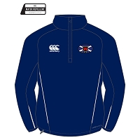 Murrayfield Wanderers Mini/Midi FC Team 1/4 Zip Micro Fleece Adults Navy