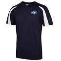 North Ayrshire ASC - Embroidered Contrast Cool T-Shirt