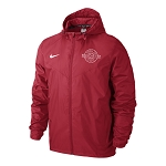 Park Sports Project Coaches Rain Jacket - University Red