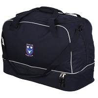 Penicuik RFC Player Holdall Navy/Silver