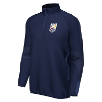 Queensferry RFC Edge Pro Team Midlayer - Navy/Navy