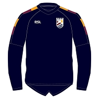 Queensferry RFC Performance Contact Top - Navy