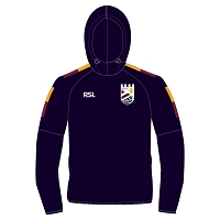 Queensferry RFC Performance Hoody - Navy