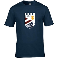 Queensferry RFC Premium Cotton T-Shirt - Navy