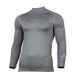 Salle Rollo Fencing Club LS Baselayer Heather Grey Senior