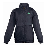 SAPC Sycamores Netball Surf Windbreaker Jacket Navy Junior