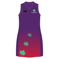SAPC Sycamores S1 Mechanical Netball Dress Junior