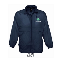 SAPC Sycamores Netball Surf Windbreaker Jacket Navy Senior