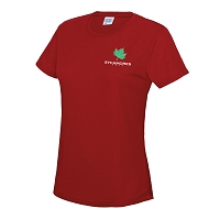 SAPC Sycamores Netball T-Shirt Red