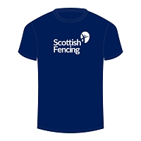 Scottish Fencing Womens Cotton T-Shirt