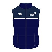 Scottish Fencing Pro Gilet Navy Tonal