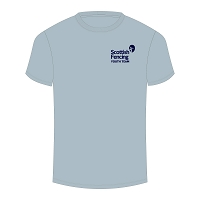Scottish Fencing Challenge Wratislavia Performance T-Shirt Sky