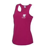 Scottish Women's Masters Hockey Girlie Cool Vest - Hot Pink